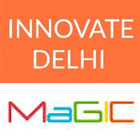 the innovate delhi / magic academy logos